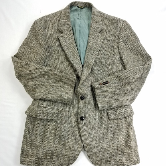 6d37cab5d Harris Tweed Hand Woven Scottish Wool Sports Coat